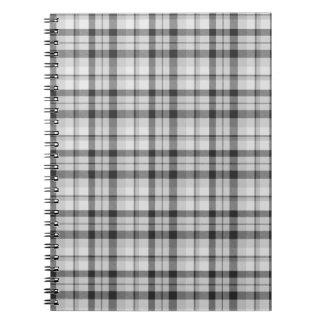 Caderno Tartan de Black&white