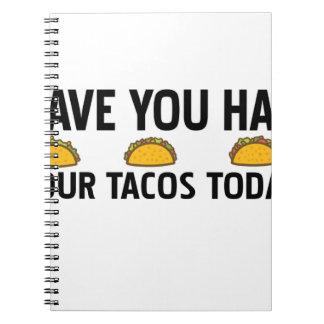 Caderno Tem você comeu seu tacos hoje