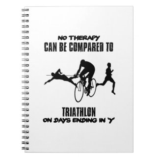 Caderno Tensão e design impressionante do TRIATHLON
