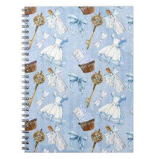 Caderno Teste padrão de Alice do país das maravilhas