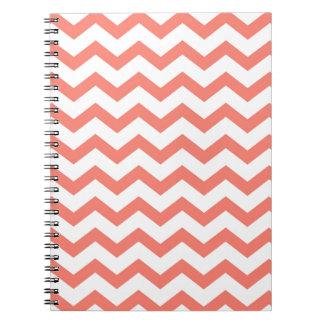 Caderno tiras cor-de-rosa macias da viga