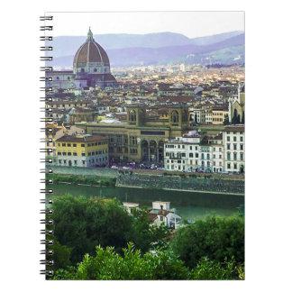 Caderno Toscânia de amor! Impressão da foto