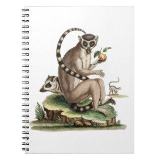 Caderno Trabalhos de arte do Lemur