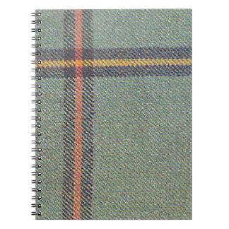Caderno Tribo de março/Tartan antigo de Marr