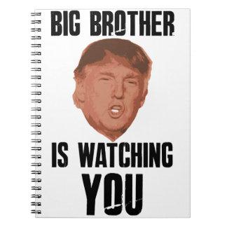 Caderno Trunfo do big brother