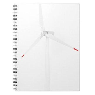 Caderno Turbina eólica moderna