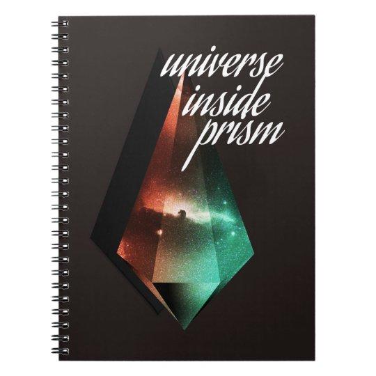Caderno Universe inside prism