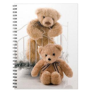 Caderno Ursos de ursinho bonitos