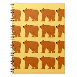 Caderno Ursos polares no ouro