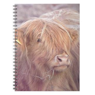 Caderno Vaca das montanhas, gado das montanhas