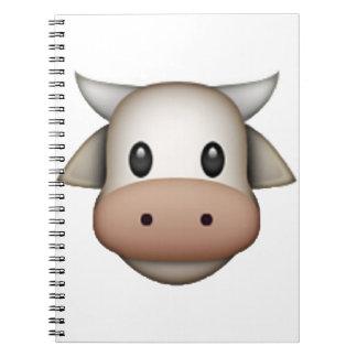 Caderno Vaca - Emoji