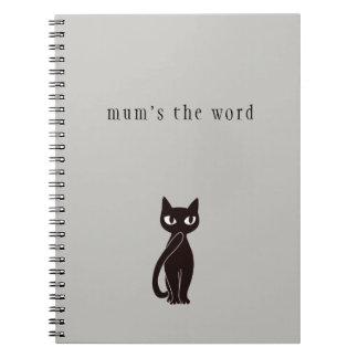 Caderno ver.2 do gato preto