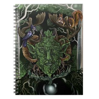 Caderno verde de Man~