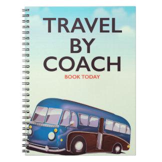 Caderno Viagem pelo poster de viagens de Ingleses do