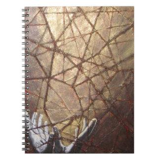 Caderno Vidro quebrado e luz solar