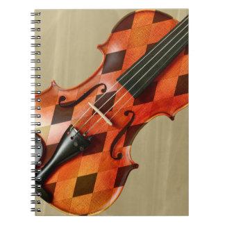 Caderno Violino do Harlequin