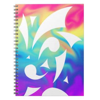 Caderno vívido dos prazeres