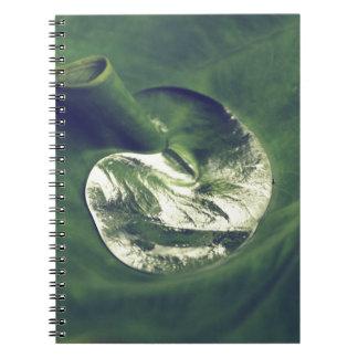 Caderno Waterdrop