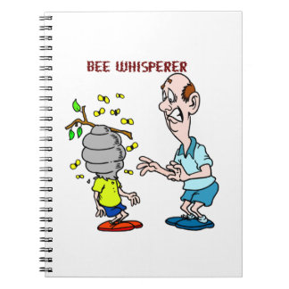 Caderno Zangão do Whisperer da abelha dos amantes das