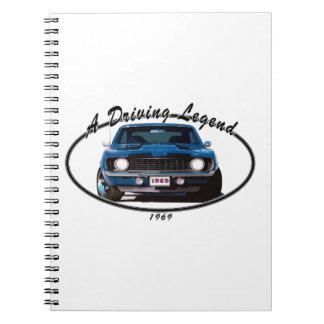 Cadernos 1969_camaro_blue_front