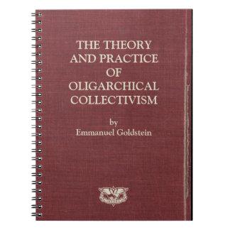 Cadernos 1984 da capa do livro de Goldstein