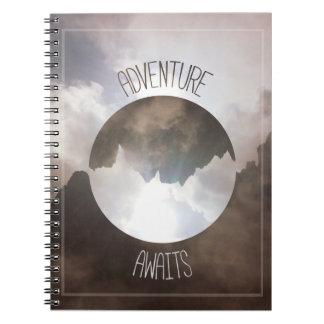 Cadernos A aventura espera