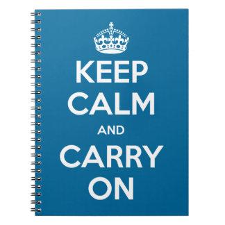 Cadernos A cor feita sob encomenda mantem a calma e