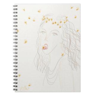 Cadernos A menina da abelha