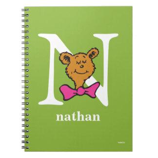 Cadernos ABC do Dr. Seuss: Letra N - O branco   adiciona