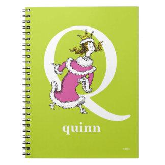 Cadernos ABC do Dr. Seuss: Letra Q - O branco   adiciona
