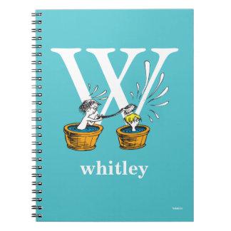 Cadernos ABC do Dr. Seuss: Letra W - O branco   adiciona