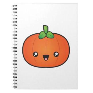 Cadernos Abóbora bonito do Dia das Bruxas
