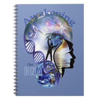 Cadernos ADN que desperta o design