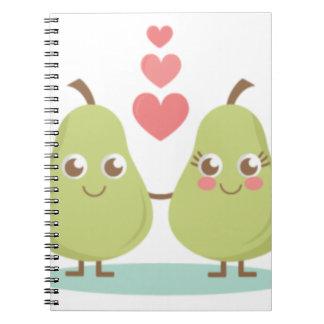 Cadernos Ame, presentes de casamento perfeitos dos pares,