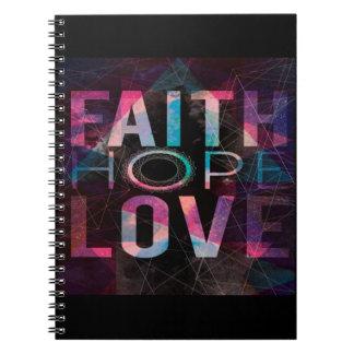 Cadernos Amor da esperança da fé