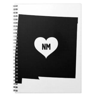 Cadernos Amor de New mexico