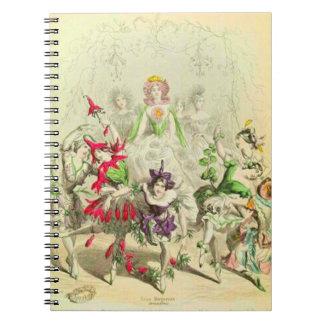 Cadernos Amor perfeito de Les Fleurs