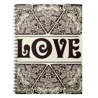Cadernos Amor - Quote´s positivo