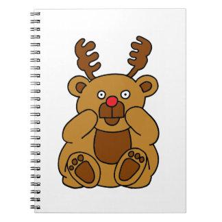 Cadernos Antlers do urso