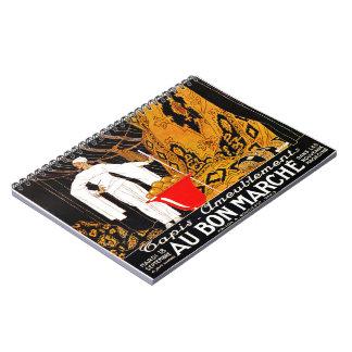 Cadernos Anúncio francês 1922 do tapete
