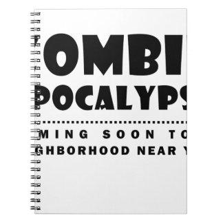 Cadernos Apocalipse do zombi
