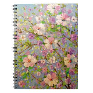 Cadernos Apple de florescência