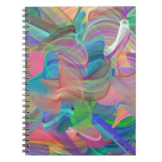 Cadernos Arco-íris dos redemoinhos