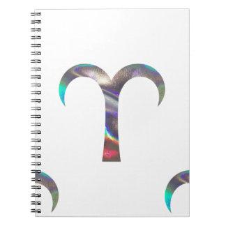 Cadernos Aries do holograma