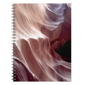 Cadernos ARIZONA - garganta superior D do antílope - rocha