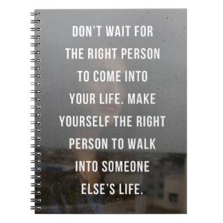 Cadernos As citações direitas da pessoa