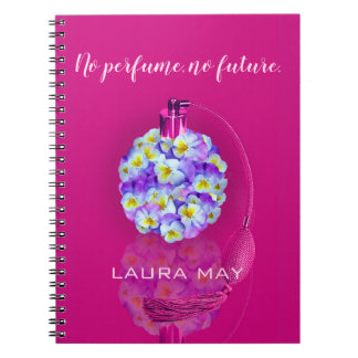 Cadernos Atomizador bonito do amor perfeito