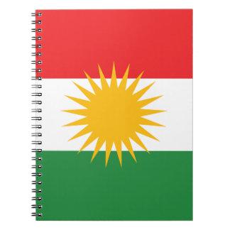 Cadernos Bandeira do Curdistão; Curdo; Curdo