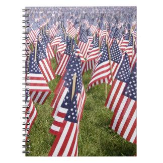 Cadernos Bandeiras do Memorial Day