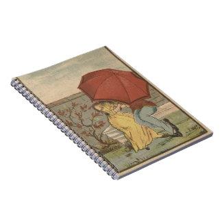 Cadernos Beijando o casal